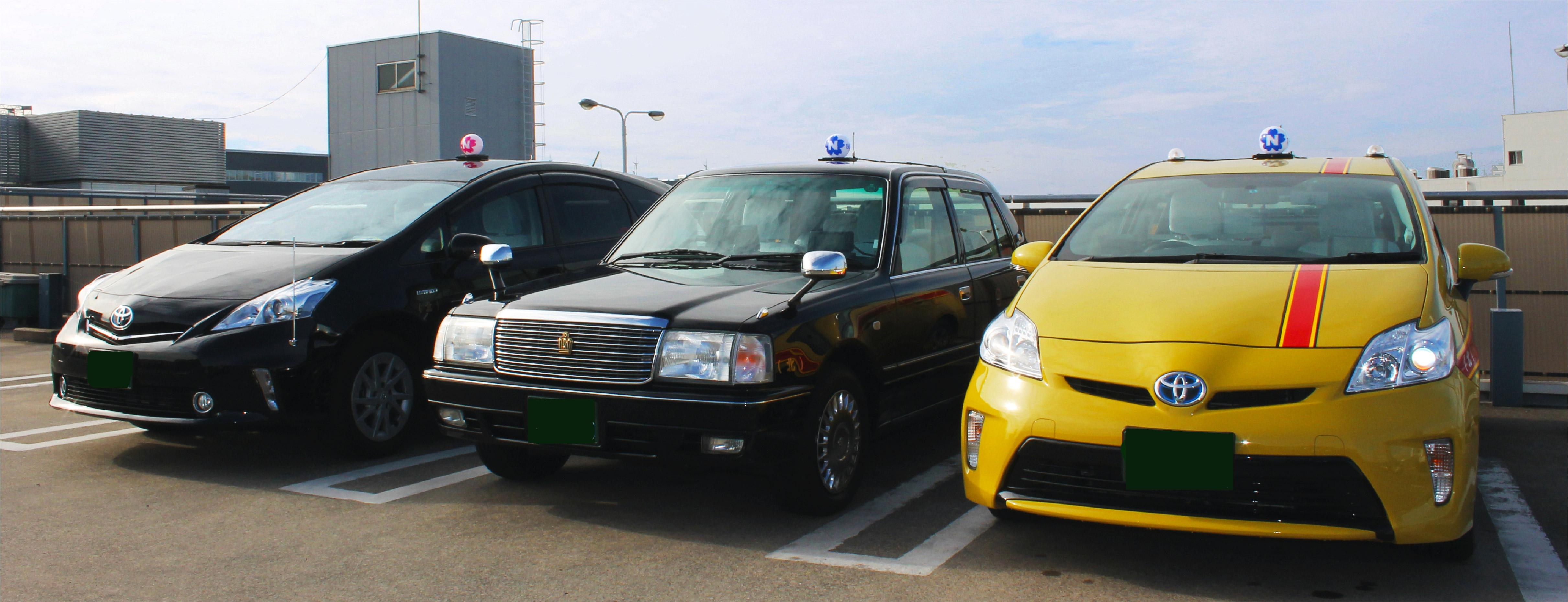 走るプロモーション。日本交通のラッピングタクシーが熱い!